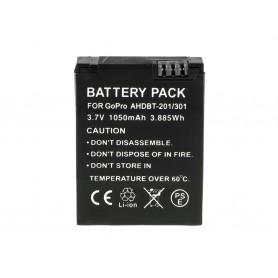 Digital Camera Battery for GoPro HD Hero 3 AHDBT-201 AHDBT-301