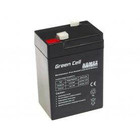 Green Cell Gel Batterie AGM 6V 4.5Ah