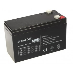 Green Cell Gel Battery AGM 12V 7.2Ah