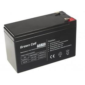 Green Cell Gel Battery AGM 12V 9Ah