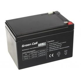 Green Cell Gel Battery AGM 12V 12Ah