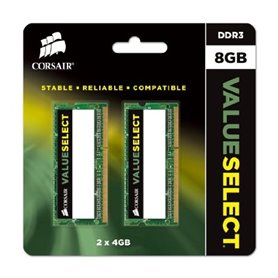 CORSAIR memory - SODIMM DDR3 - 8 GB: 2 x 4 GB - 1333 MHz