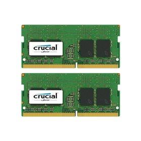 Crucial memory - SODIMM DDR4 - 16 GB: 2 x 8 GB - 2400MHz