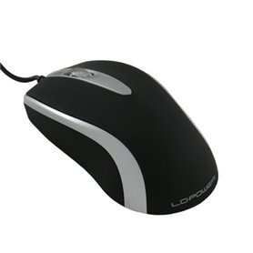 LC-Power M709BS 1000dpi Mouse USB (black/silver)